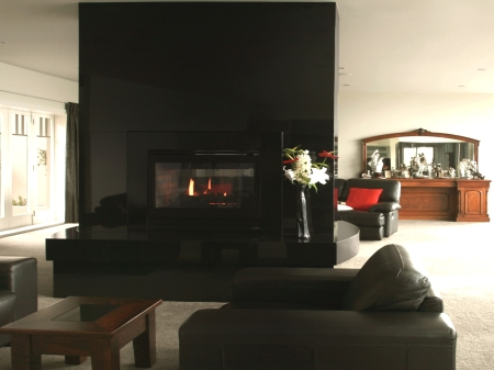 Natural stone fireplace surrounds Wellington Plamerston North